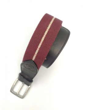Burgundy Belt from the casual collection