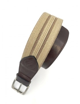 Beige belt from the casual collection