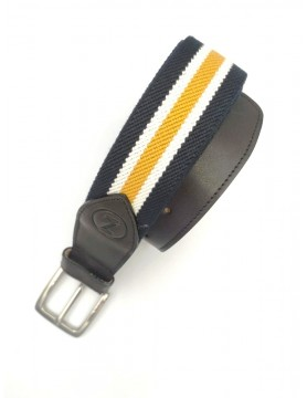 Navy blue belt from the casual collection